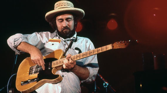 Roy Buchanan concert at Avery Fisher Hall on Jul 6, 1974