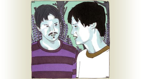 The Dodos concert at Daytrotter Studio on Feb 27, 2008