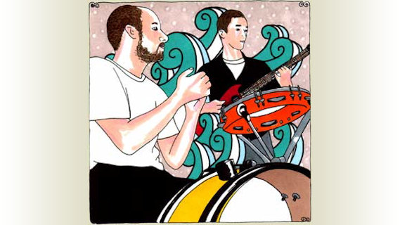 Cryptacize concert at Daytrotter Studio on Oct 15, 2008