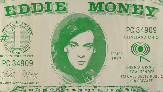 Eddie Money concert at Winterland on Dec 3, 1977