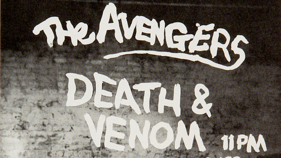 The Avengers concert at Winterland on Jan 14, 1978