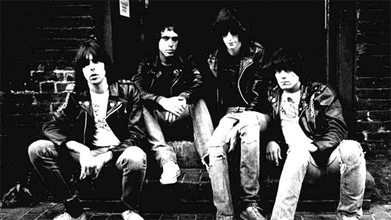 The Ramones concert at Winterland on Dec 28, 1978