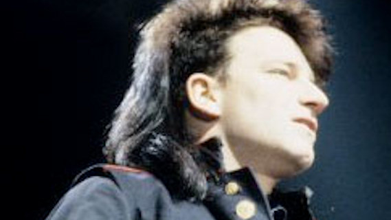 U2 concert at California Hall on May 15, 1981