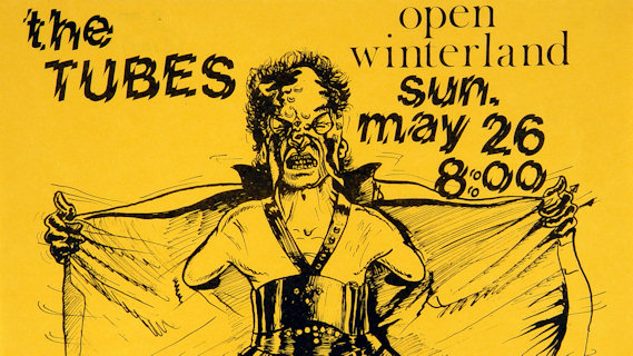 The Tubes concert at Winterland on May 26, 1974