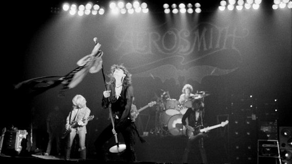 Aerosmith concert at Interview on Jan 14, 1980