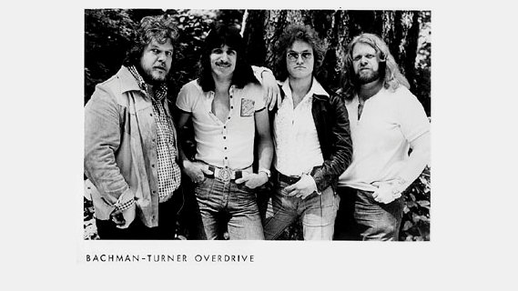Bachman-Turner Overdrive concert at Chicago, IL on Mar 8, 1974