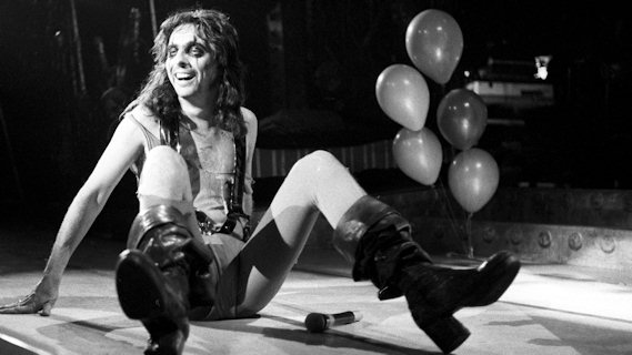Alice Cooper concert at Saginaw Auditorium on May 10, 1978