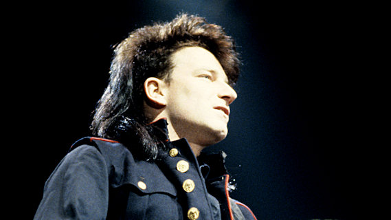 Bono concert at Interview on Nov 19, 1984