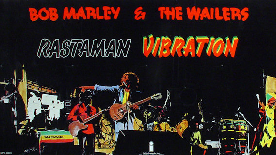 Bob Marley and the Wailers concert at Lyceum Ballroom on Jul 18, 1975