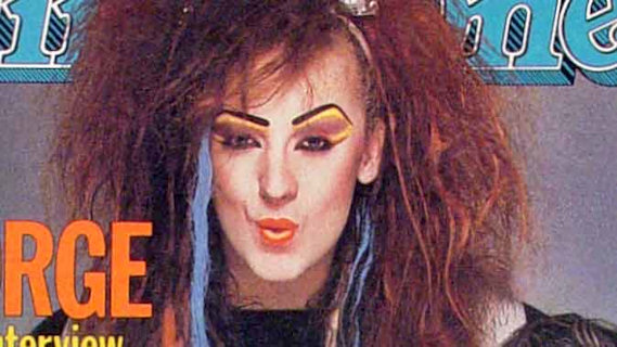 Boy George concert at Interview on May 2, 1984