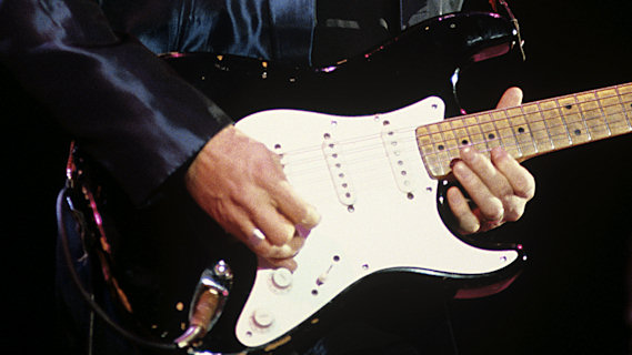 Eric Clapton concert at Richmond Coliseum on Apr 22, 1985