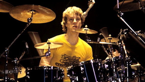 Stewart Copeland concert at Interview on Nov 12, 1986