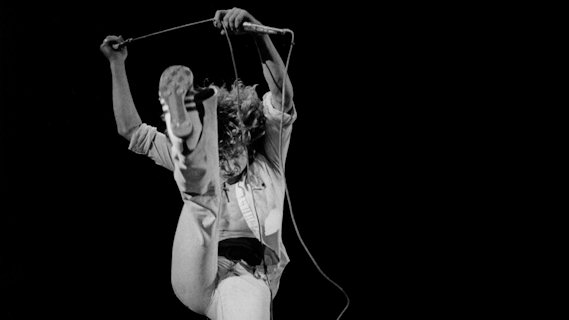 Roger Daltrey concert at Interview on Aug 19, 1975