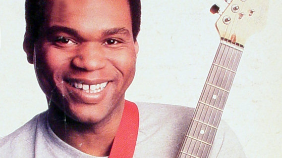 Robert Cray concert at Auditorium Shores on May 25, 1987