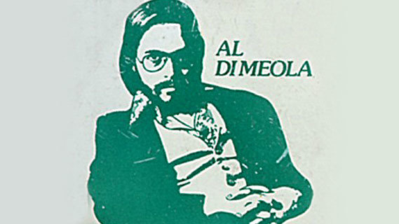 Al Di Meola concert at Palladium on May 5, 1978