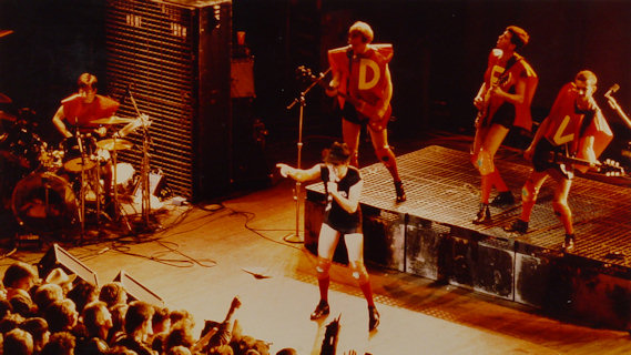 Devo concert at Orpheum Theatre on Nov 5, 1981