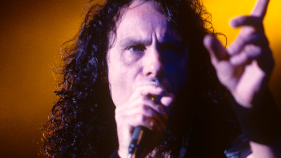 Ronnie James Dio concert at Interview on Oct 20, 1985