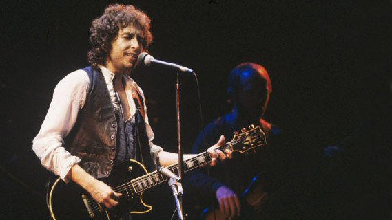 Bob Dylan concert at Interview on Jul 2, 1981