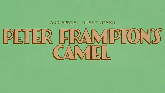 Peter Frampton's Camel concert at Academy of Music on May 4, 1973