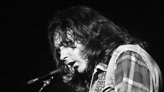 Rory Gallagher concert at Bottom Line on Nov 10, 1978