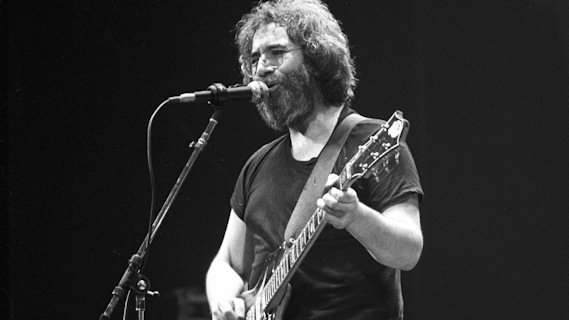 Jerry Garcia concert at Interview on Apr 9, 1982