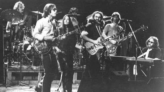 Grateful Dead concert at Orpheum Theatre San Francisco on Jul 18, 1976