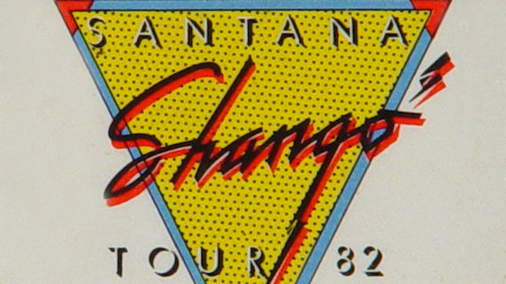 Santana concert at Montreal Forum on Sep 22, 1982