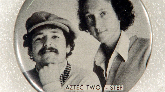 Aztec Two-Step concert at Bottom Line on Feb 4, 1978