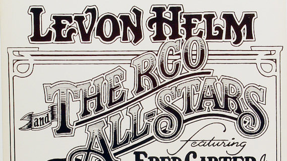 Levon Helm and The RCO All Stars concert at Superdome on Feb 7, 1978