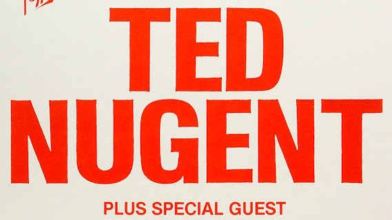 Ted Nugent concert at Municipal Auditorium on Apr 20, 1984