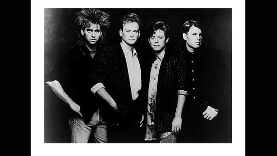 Mr. Mister concert at Ritz on Dec 14, 1985