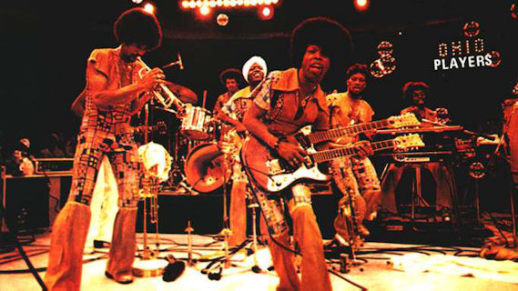 The Ohio Players concert at Circle Star Theatre on Mar 12, 1977