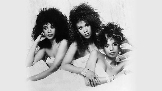 The Pointer Sisters concert at Perkins Palace on Mar 1, 1982