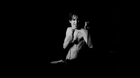 Iggy Pop concert at Agora Ballroom on Mar 21, 1977