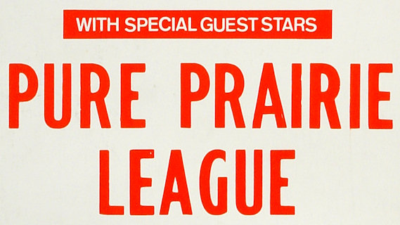 Pure Prairie League concert at Beacon Theatre on Apr 3, 1976