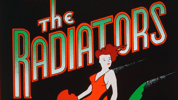 The Radiators concert at Ritz on Mar 14, 1988