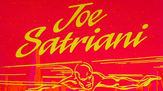 Joe Satriani concert at Fillmore Auditorium on Apr 16, 1988