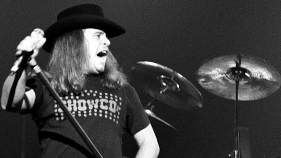 Lynyrd Skynyrd concert at Cardiff Capitol Theatre on Nov 4, 1975