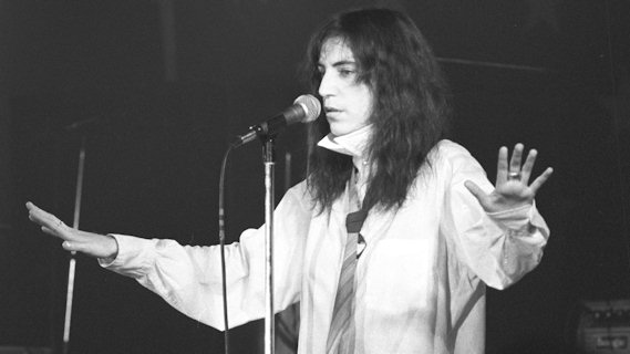 Patti Smith concert at CBGB on Aug 11, 1979