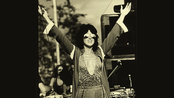 Grace Slick concert at Interview on May 17, 1978