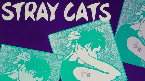 Stray Cats concert at Ritz on Oct 18, 1988