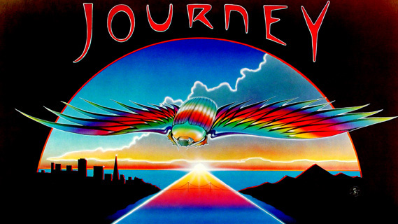 Journey concert at Summit Arena on Nov 6, 1981