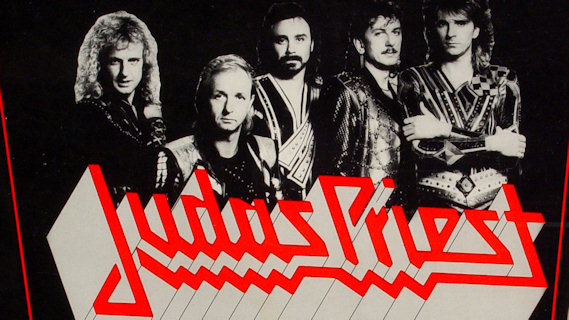 Judas Priest concert at Kansas City on May 22, 1986