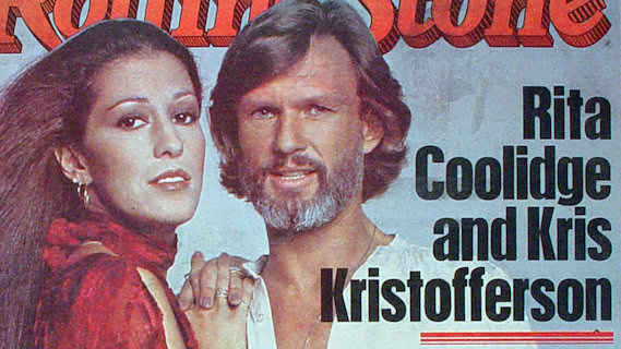 Kris Kristofferson &amp; Rita Coolidge concert at Karl Marx Theater on Mar 3, 1979
