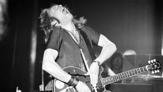 Alvin Lee concert at Interview on Sep 19, 1975