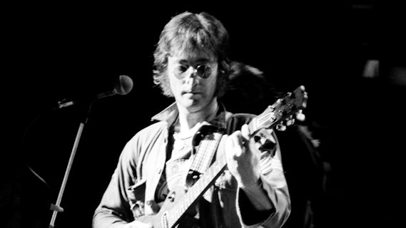 John Lennon concert at Madison Square Garden on Aug 30, 1972