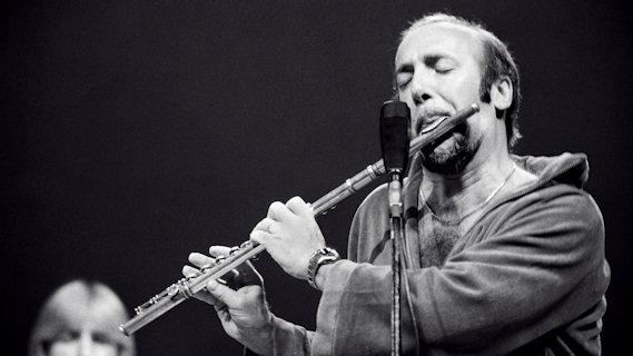 Herbie Mann concert at Bottom Line on Jan 21, 1978