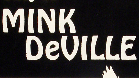 Mink DeVille concert at New York City on Apr 14, 1981
