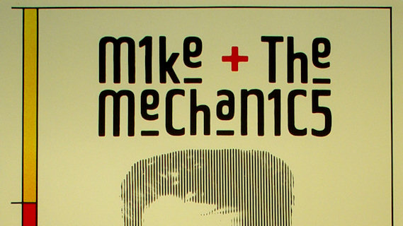 Mike and the Mechanics concert at Tower Theater on Jun 19, 1986