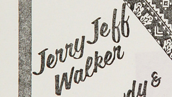 Jerry Jeff Walker concert at Lone Star Cafe on Aug 19, 1982